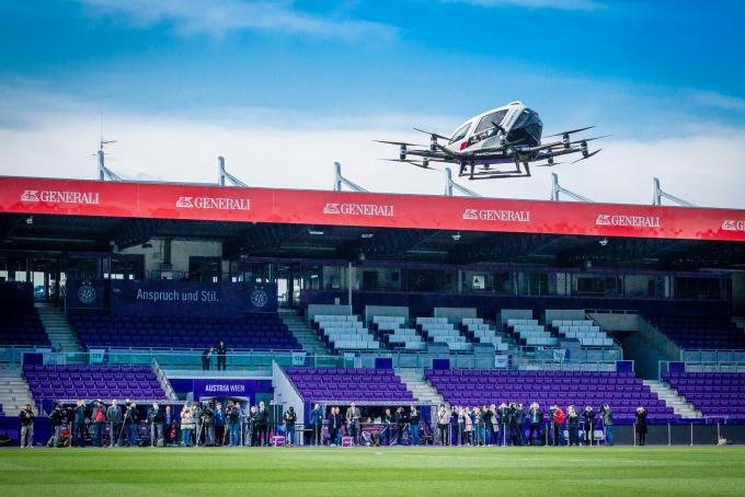 taxi drone